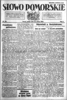 Słowo Pomorskie 1921.02.18 R.1 nr 38