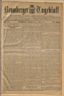 Bromberger Tageblatt. J. 35, 1911, nr 154