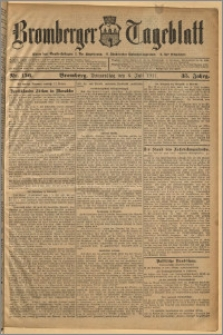 Bromberger Tageblatt. J. 35, 1911, nr 156