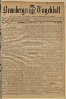 Bromberger Tageblatt. J. 35, 1911, nr 166