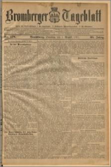 Bromberger Tageblatt. J. 35, 1911, nr 178