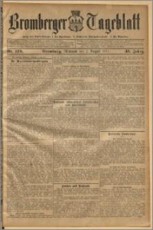 Bromberger Tageblatt. J. 35, 1911, nr 179
