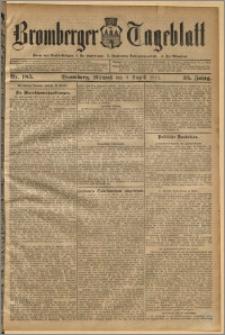 Bromberger Tageblatt. J. 35, 1911, nr 185