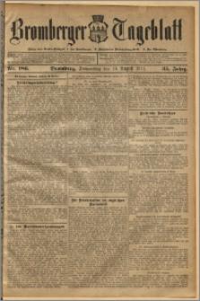 Bromberger Tageblatt. J. 35, 1911, nr 186