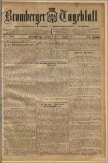 Bromberger Tageblatt. J. 35, 1911, nr 187