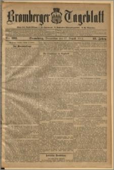 Bromberger Tageblatt. J. 35, 1911, nr 192