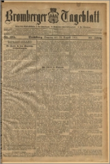 Bromberger Tageblatt. J. 35, 1911, nr 195