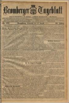 Bromberger Tageblatt. J. 35, 1911, nr 197