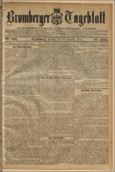 Bromberger Tageblatt. J. 35, 1911, nr 199