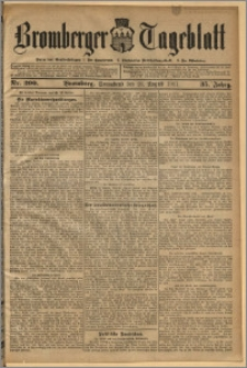 Bromberger Tageblatt. J. 35, 1911, nr 200