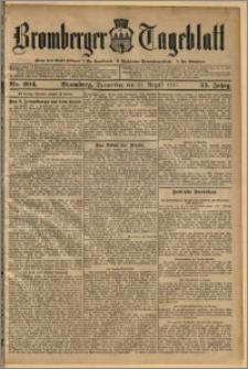 Bromberger Tageblatt. J. 35, 1911, nr 204