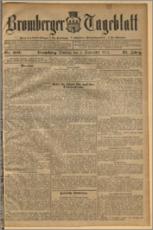 Bromberger Tageblatt. J. 35, 1911, nr 207