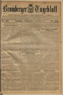 Bromberger Tageblatt. J. 35, 1911, nr 209