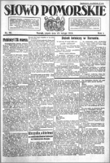 Słowo Pomorskie 1921.02.25 R.1 nr 44