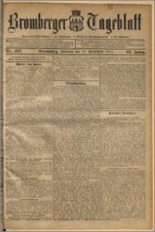 Bromberger Tageblatt. J. 35, 1911, nr 213