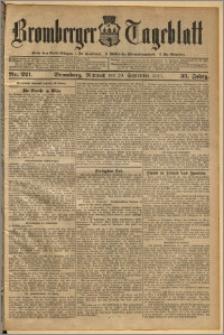 Bromberger Tageblatt. J. 35, 1911, nr 221