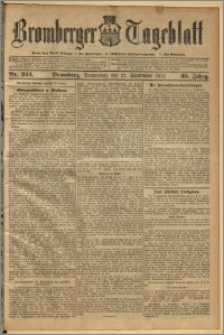 Bromberger Tageblatt. J. 35, 1911, nr 222