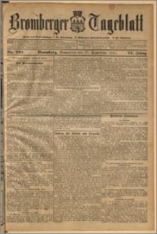 Bromberger Tageblatt. J. 35, 1911, nr 224