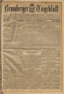 Bromberger Tageblatt. J. 35, 1911, nr 225
