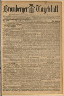 Bromberger Tageblatt. J. 35, 1911, nr 227