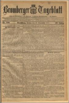 Bromberger Tageblatt. J. 35, 1911, nr 229