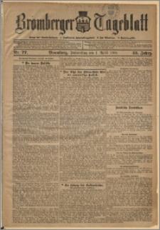 Bromberger Tageblatt. J. 33, 1909, nr 77