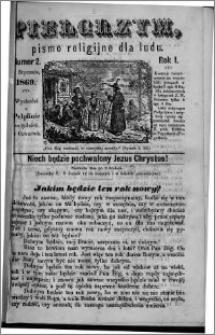 Pielgrzym, pismo religijne dla ludu 1869 rok I nr 2
