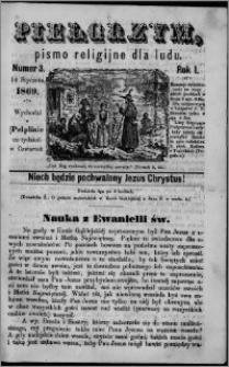 Pielgrzym, pismo religijne dla ludu 1869 rok I nr 3