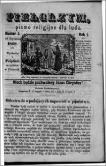 Pielgrzym, pismo religijne dla ludu 1869 rok I nr 5