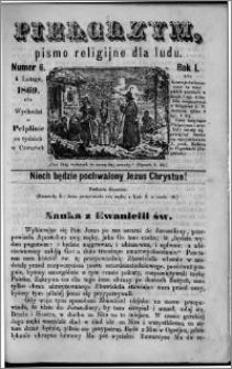 Pielgrzym, pismo religijne dla ludu 1869 rok I nr 6