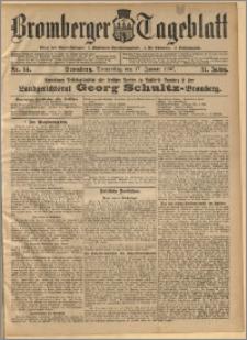 Bromberger Tageblatt. J. 31, 1907, nr 14