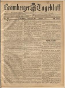 Bromberger Tageblatt. J. 31, 1907, nr 32