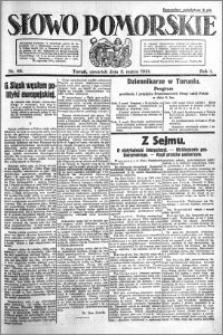 Słowo Pomorskie 1921.03.03 R.1 nr 49