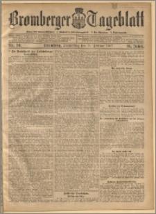 Bromberger Tageblatt. J. 31, 1907, nr 50