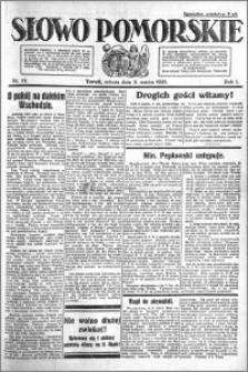 Słowo Pomorskie 1921.03.05 R.1 nr 51