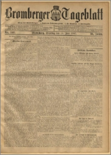 Bromberger Tageblatt. J. 31, 1907, nr 146