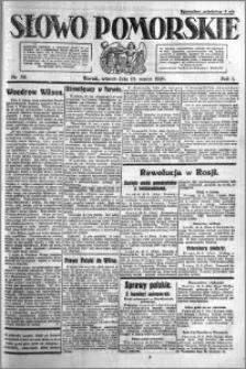 Słowo Pomorskie 1921.03.15 R.1 nr 59