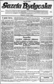 Gazeta Bydgoska 1922.07.18 R.1 nr 14