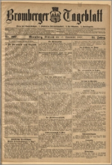 Bromberger Tageblatt. J. 31, 1907, nr 267
