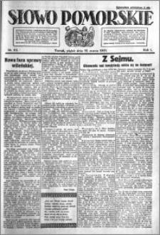 Słowo Pomorskie 1921.03.18 R.1 nr 62