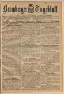 Bromberger Tageblatt. J. 31, 1907, nr 295