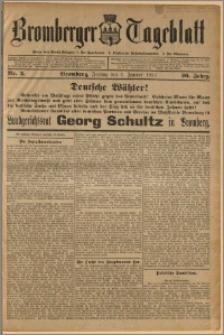 Bromberger Tageblatt. J. 36, 1912, nr 3