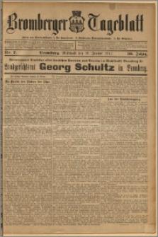 Bromberger Tageblatt. J. 36, 1912, nr 7