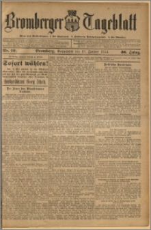 Bromberger Tageblatt. J. 36, 1912, nr 10