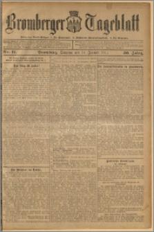 Bromberger Tageblatt. J. 36, 1912, nr 11