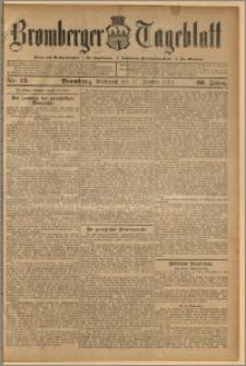 Bromberger Tageblatt. J. 36, 1912, nr 13