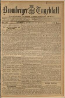 Bromberger Tageblatt. J. 36, 1912, nr 18