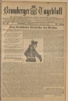 Bromberger Tageblatt. J. 36, 1912, nr 19