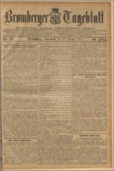 Bromberger Tageblatt. J. 36, 1912, nr 22