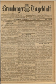 Bromberger Tageblatt. J. 36, 1912, nr 25